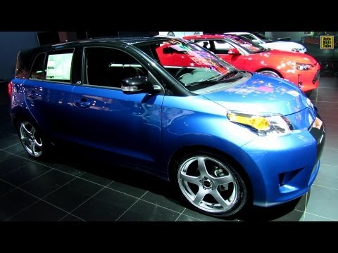 2013 Scion xD - Exterior and Interior Walkaround - 2013 New York Auto Show