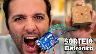 Como fazer um dado eletrônico #ManualMaker Aula 5, Vídeo 2