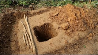 Primitive Technology: Toilet (WC) Part-1