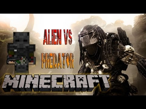Alien VS Predator - Review Minecraft Mod 1.4.5