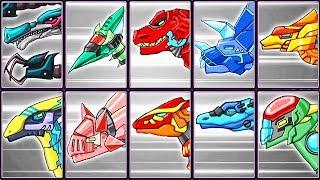 Dino Robot Corps #11: Baryonyx & Dinosaurs | Eftsei Gaming