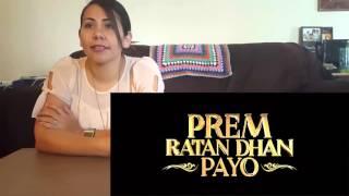 Prem Ratan Dhan Payo Official Trailer Cynthia's Reaction Salman Khan & Sonam Kapoor |