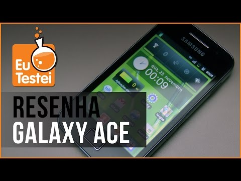 Smartphone Samsung Galaxy Ace GT-S5830B - Resenha Brasil