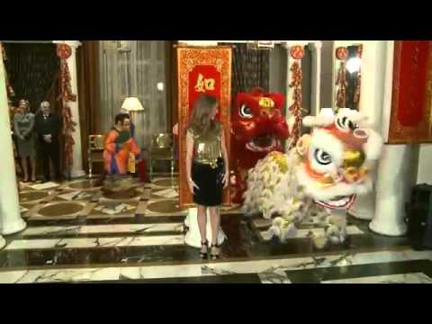 Celine Dion - Grand opening of Octavius Tower and Chinese New Year