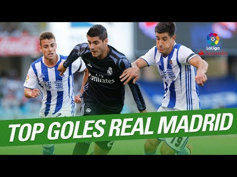 TOP 10 Goals Real Madrid LaLiga Santander 2016/2017