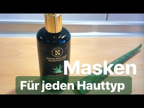 4 DIY Gesichtsmasken mit Aloe Vera Gel für jeden Hauttyp I Marina Si