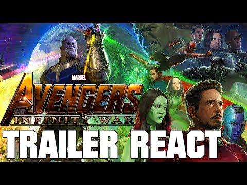 The Avengers: Infinity War Trailer - React