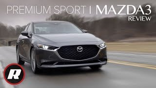2019 Mazda3 review: Sport meets mild luxury for the new, compact Mazda sedan