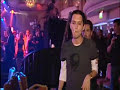 Drunk Brian Molko Turns Over Table