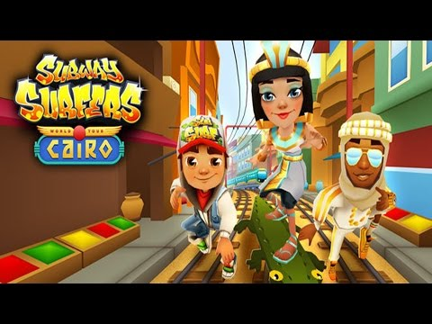Subway Surfers: Cairo - Sony Xperia Z2 Gameplay