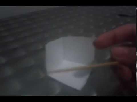 como fazer uma ilusão de otica do dado voador