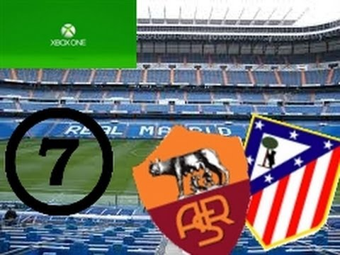 Madrid Derby and As Roma - FIFA 14 Next Gen:Carrer Mode Surperleague Real Madrid #7