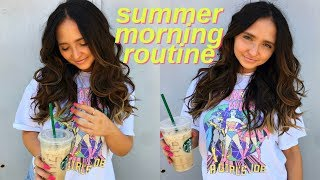 summer morning routine 2018 | every day summer routine