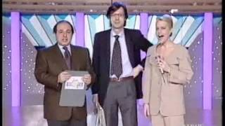Vittorio Sgarbi polemica con Magalli ed Heather Parisi ( Ciao WeekEnd - RAIDUE 1991)