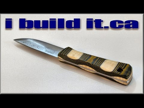 Making A Knife From A Pry Bar