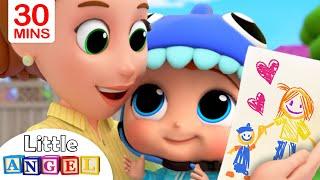 Mommy, Mommy I Love You   Little Angel Kids Songs \u0026 Nursery Rhymes