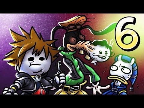 Oney Plays Kingdom Hearts 2 - EP 6 - Goofy's Great Train Robbery