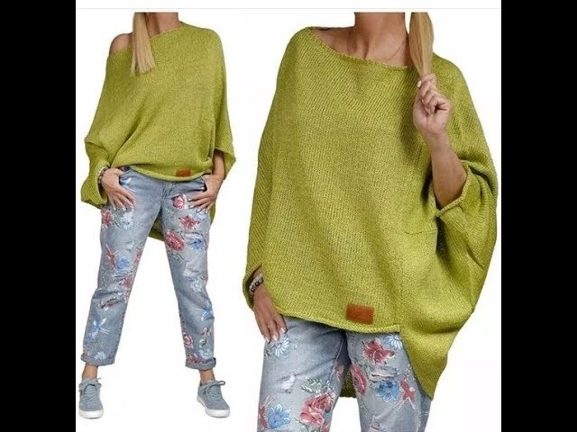 Вязание Спицами - Модные Пуловеры - 2019 / Knitting with Needles Fashionable Pullovers