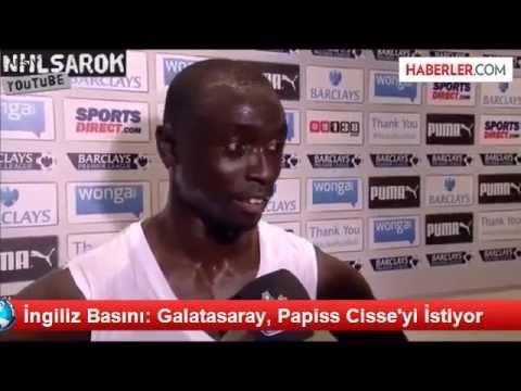 İngiliz Basını: Galatasaray, Papiss Cisse'yi İstiyor