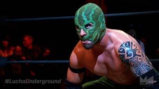Matanza vs El Dragon Azteca Jr Lucha Underground Mid-Season Finale