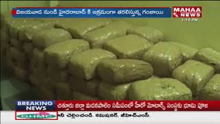 Police Caught Ganja Mafia Gang At Ranga Reddy district