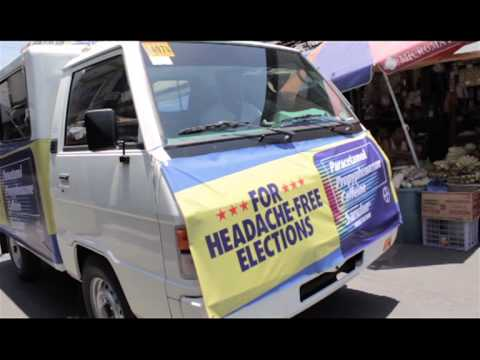 Saridon sent out an Anti-Headache election van, which gave away samples of Saridon and played soothing music to calm the frayed nerves of the local electorate.