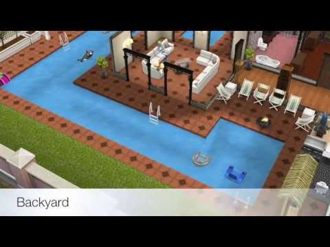 The Sims FreePlay- Two Story Mansion