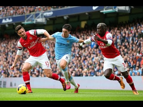 Samir Nasri vs Arsenal F.C. (H) 13/14 PL By ChequeredCrown