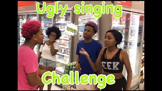The Ugly Singing Challenge !! ( PUBLIC PRANK )