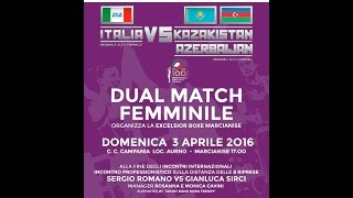 Dual Match ITA Vs KAZ/AZE/UNG Marcianise 03/04/2016 #ItaBoxing