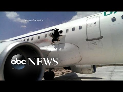 Explosion on a Passenger Plane Minutes After Takeoff
