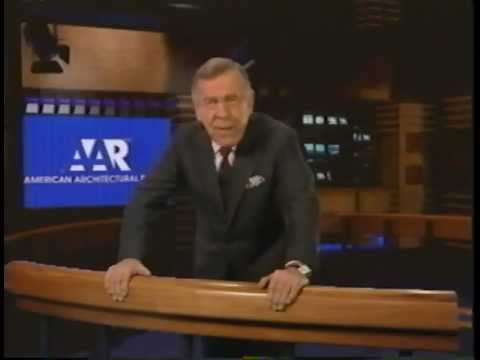 Morley Safer presents Dix Systems Shower Pan Liner on American Architectural Review