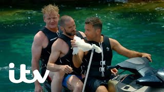 Gordon, Gino and Fred: Road Trip | Fishing for Octopus! | ITV