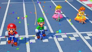 Super Mario Party - All Skill Minigames (2 Players)