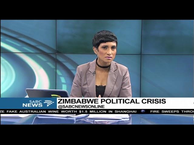 Mugabe's first public appearance since military takeover: Ephert Musekiwe