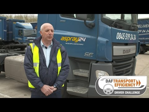 DAF Transport Efficiency Driver Challenge - Meet the Finalists: Richard Baker
