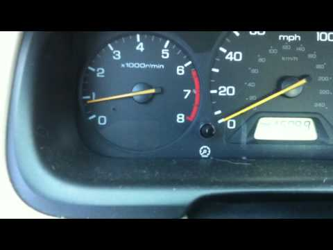 2000 Honda Accord Misfire on all Cylinders
