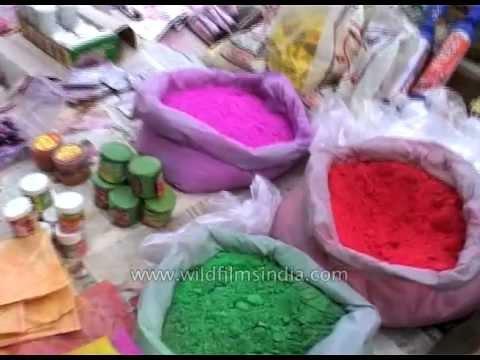 Gulal: Holi's festive colours