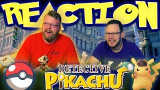 POKÉMON Detective Pikachu - Official Trailer #1 REACTION!!