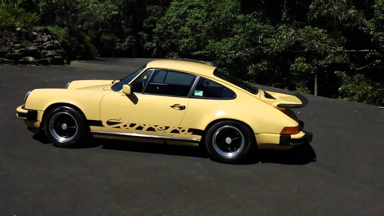 1974 Porsche 911 2 7 Carrera Youtube