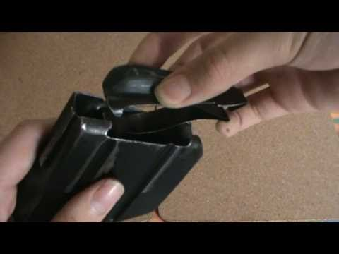 How to strip Lee-Enfield magazines.