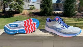 Saucony Ride ISO 2 Initial Run Impressions Review, Compared to Ride ISO 1