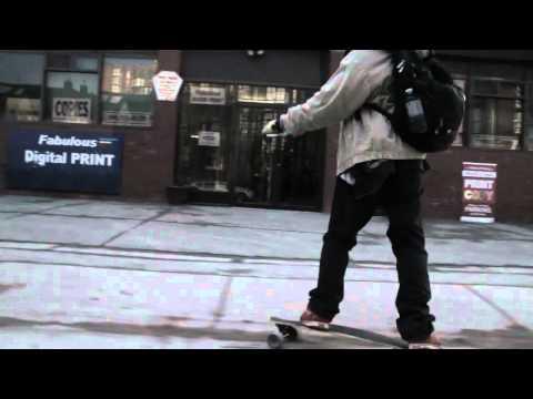 Big city dreams- a longboard living movement