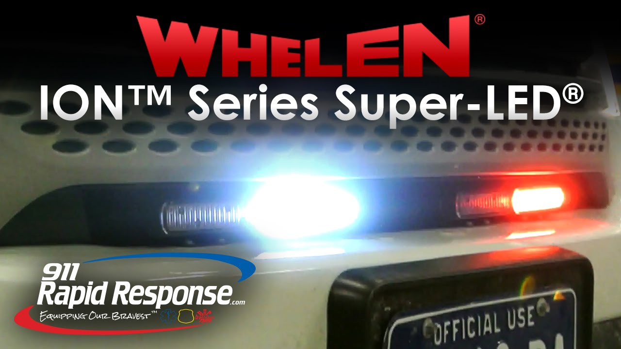 Whelen Ion Series Super Led