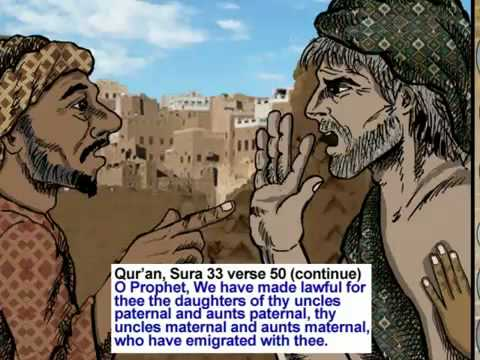 Muhammad & Zainab Cartoon 100 % Islamic video
