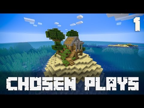 Chosen Plays Minecraft 1.13 Ep: 1 Little Starter Home