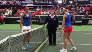 Highlights: Lucie Safarova (CZE) v Caroline Garcia (FRA)