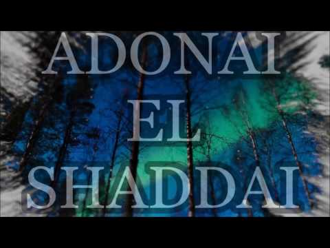 ADONAI  EL SHADDAI  PAUL WILBUR  REVIVE WITH LYRICS
