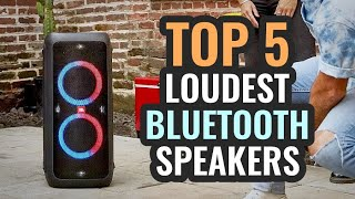 Loudest Bluetooth Speakers for 2019! TOP 5 / Best