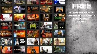 Free Steam Games, Free Steam Accounts, Free Premium Accounts, *Updated 12/13/2011*